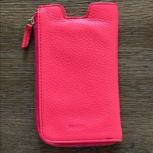 Fossil phone pouch/mini purse